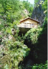 Tito's cave headquarters in 1990.