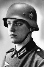 """The ideal German soldier"", Werner Goldberg (Berliner Tageblatt , 1939)."