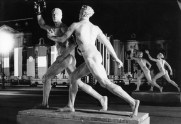 Statues representing the ideal body were erected in the streets of Berlin for the 1936 Summer Olympics.