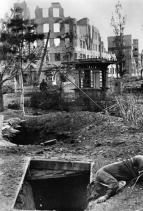 Death and destruction during the Battle of Stalingrad, October 1942.