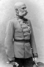 Franz Joseph I, 1885.
