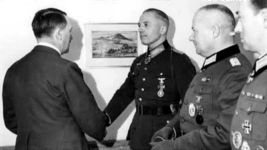 Walther von Seydlitz-Kurzbach with Hitler and other officers.