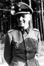 "SS-Sturmbannführer Dr. phil. Hans-Joachim ""Hajo"" Heinrich Baron von Hadeln, 1942."
