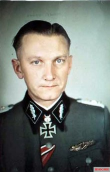 SS-Brigadeführer Hugo Kraas.