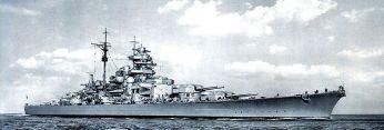 Battleship Bismarck.