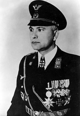 Ferdinand Čatloš as Minister of Defence.