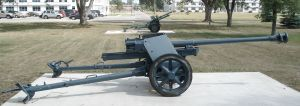 German Pak 40 75 mm.