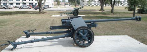 German Pak 40 75 mm.