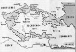 The German territories liberated under the agreement.