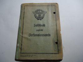 Police Soldbuch.