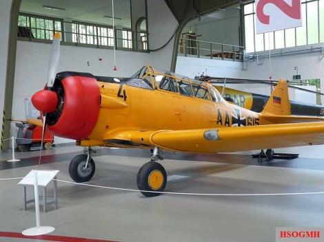 North American T-6 Harvard.