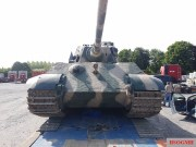 Only working Tiger 2 in the world of the Musée des Blindés - Tank Museum - France at Millitracks 2018, Netherlands.