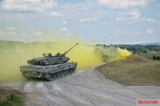 2018 Strong Europe Tank Challenge.