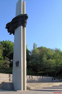 The Memorial to Polish Soldiers and German Anti-Fascists 1939–1945 in Berlin.