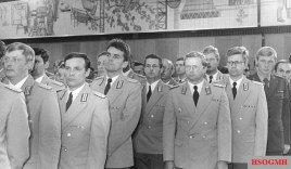 Various uniforms worn by NVA officers.