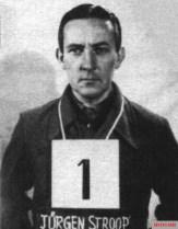 Jürgen Stroop in U.S. military custody, 1945.