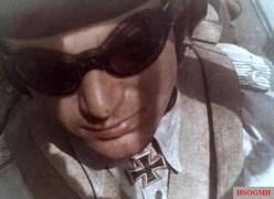 Hans-Ulrich Rudel in his Stuka.