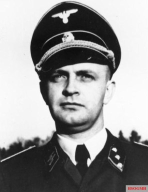 Heinz Linge, Hitler's valet, was one of the first people into Hitler's study after the suicide.