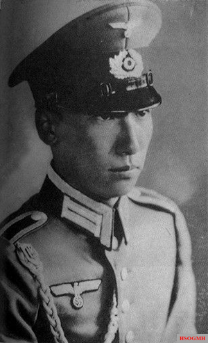 Chiang Wei-kuo, Generalissimo Chiang Kai-shek's adopted son, received military training in Germany.