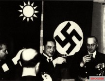 Wang Jingwei of the puppet government in Nanking meeting with Nazi diplomats in 1941.