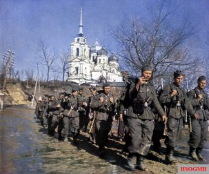 Marching in the east,1941.