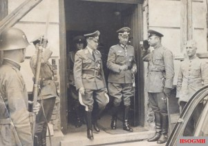Wehrmacht officers in Bulgaria in 1939.