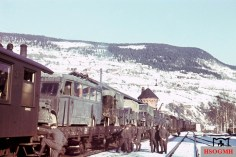 Transport of Air Force unit probably in Norway