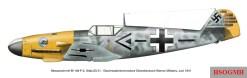 Messerschmitt Bf 109 F-2, Stab/JG 51, Geschwaderkommodore Oberstleutnant Werner Mölders, June 1941.