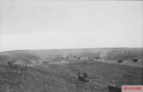 Vehicles of II SS-Panzer Corps advancing toward Prokhorovka on 11 July.