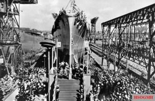 Prinz Eugen's launch.