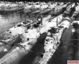 Seehund midget submarines.