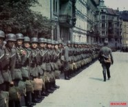 Wehrmacht inspection in Paris, France, in 1941.