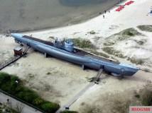 Type VIIC/41 U-995. Laboe Naval Memorial.
