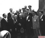 Von Braun with President Dwight D. Eisenhower, 1960.