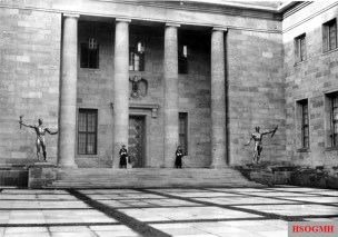 Albert Speer's New Reich Chancellery, completed in 1939.