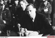 Helmuth James von Moltke at the Volksgerichtshof.