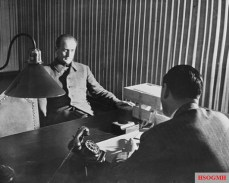 Interrogation of Axmann in Nuremberg, 16 October 1947.