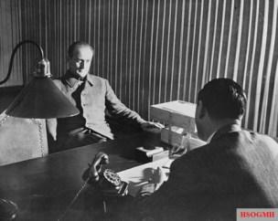 Interrogation of Axmann in Nuremberg, 16 October 1947.