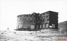 Campo Imperatore Hotel in 1943.