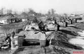 Panzers of the division in Romania, 1944.