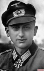Oberleutnant der Reserve Günter Vollmer.