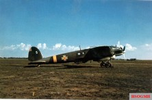 Heinkel He 111 H-3 Nr.5 of Aeronautica Regală Română (ARR, or the Royal Rumanian Air Force), taken at an unknown airfield in Bessarabia.
