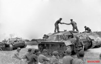 StuG in Latvia during the Baltic Operation.