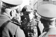 Erwin Rommel 1941 in Strasbourg.