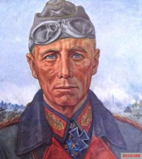 Erwin Rommel by Wolfgang Willrich.