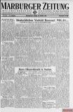 Marburger Zeitung, October 20, 1944: Immortal role model Rommel.