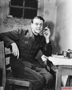 Waiting in a cell as a witness at the Nuremberg trials – 24 November 1945.