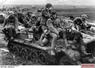 3rd SS Division on the Eastern Front.