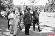 Göring with Hitler and Albert Speer, 10 August 1943.