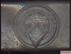 Belt buckle of the Hitler Youth: Blood and Honor motto on it.